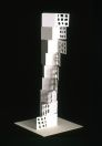 Small Tower, cut paper